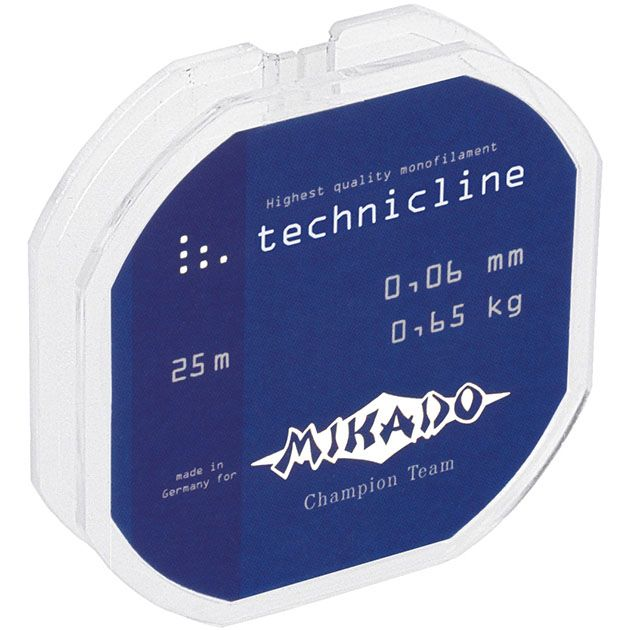 Леска мононить Mikado TECHNICLINE 0,38 (150 м) - 13.50 кг.